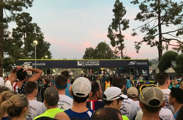 Los Angeles Marathon 2017 Start Line