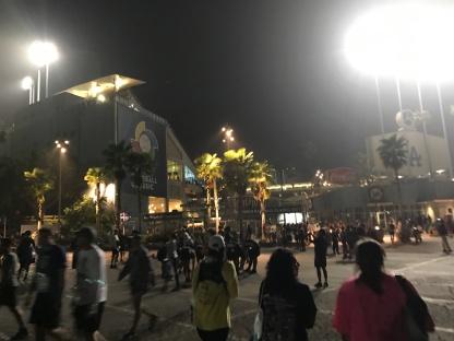 Dodger Stadium Los Angeles Marathon 2017