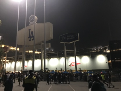 Dodger Stadium Los Angeles Marathon 2017