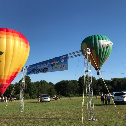NJ Balloon Festival 5k Start