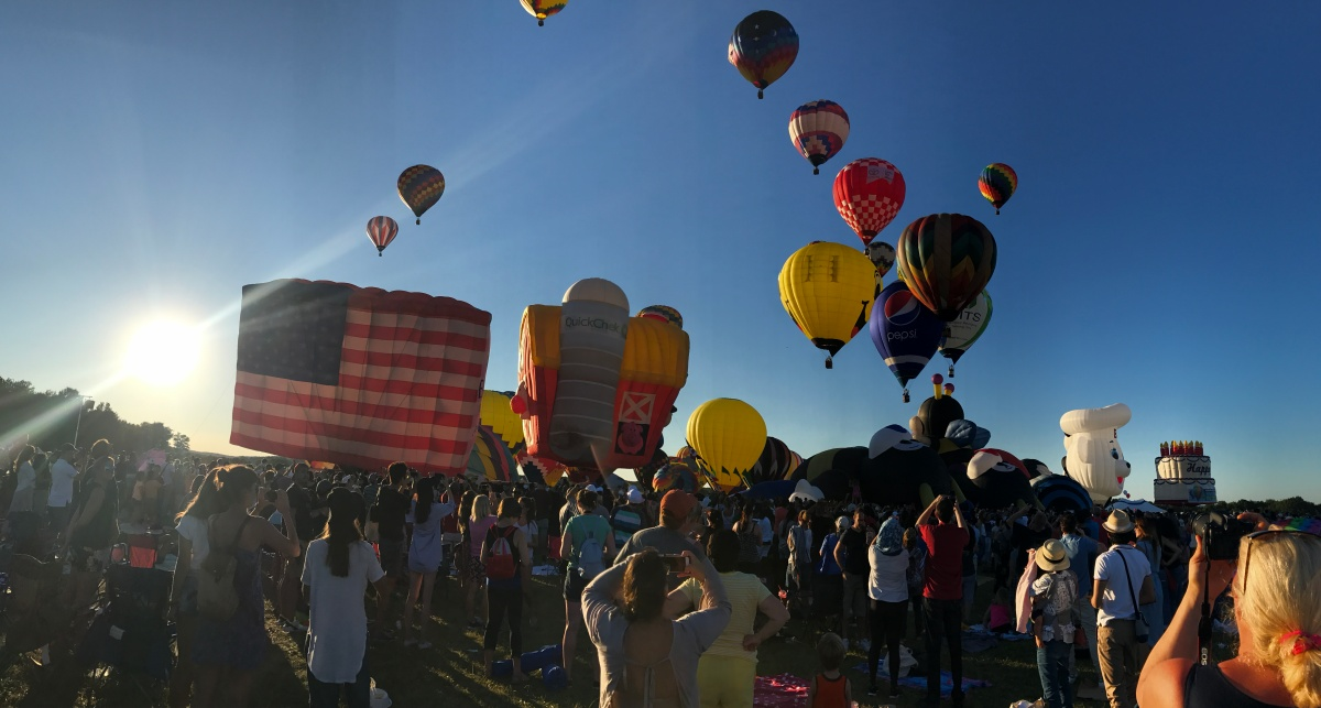 NJ Balloon Festival: Running With The Balloons 5k Race Report