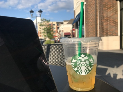 Starbucks and Blogging